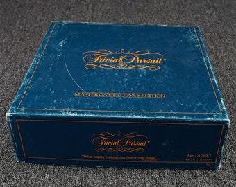 Vintage Trivial Pursuit Master Game-Genus Edition No. 7 C. 1981
