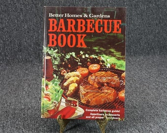 Better Homes And Gardens Barbecue Cookbook C. 1965