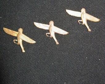 Vintage-Horis Mi man mi eagle-Ten-10 Copper cut outs-Arts and Crafts Items