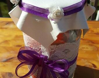 Pastel Mason Jar gift set