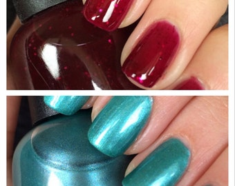 Good vs. Evil nail polish duo