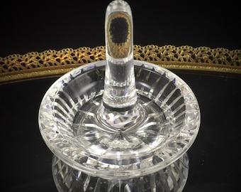 Vintage Waterford Crystal Vase Vintage Crystal Vase Cut Glass Vase Antique Crystal Dish Waterford Dish Cut Crystal Home Decor Trinket Dish