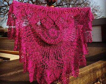 Floor Length Bohemian Crocheted Vest