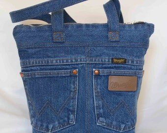 Repurposed Denim Bag