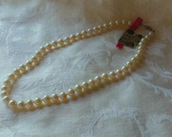 Vintage Cultured Pearl Necklace (Kyoto 1960's)