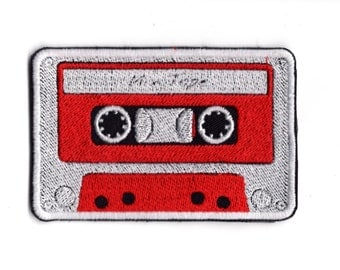 Casset  Mix Tape  Iron or Sew On patch