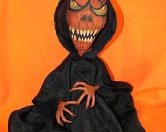 Pumpkinface doll