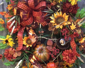 Extra Large Fall Wreath