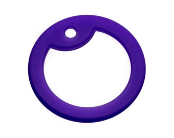 Purple Dog Tag Silencer