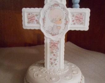 "Precious Moments ""Jesus Loves Me"" Figurine 1992"