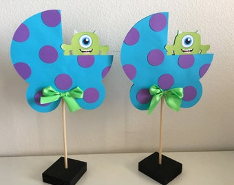 Baby monsters inc centerpiece(color options!!)