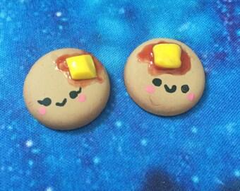 Polymer Clay Kawaii Pancakes - Comes as a Pair