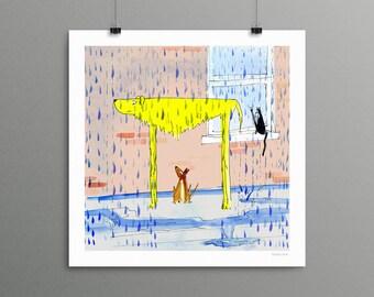 Wet/Dry - Giclée Print