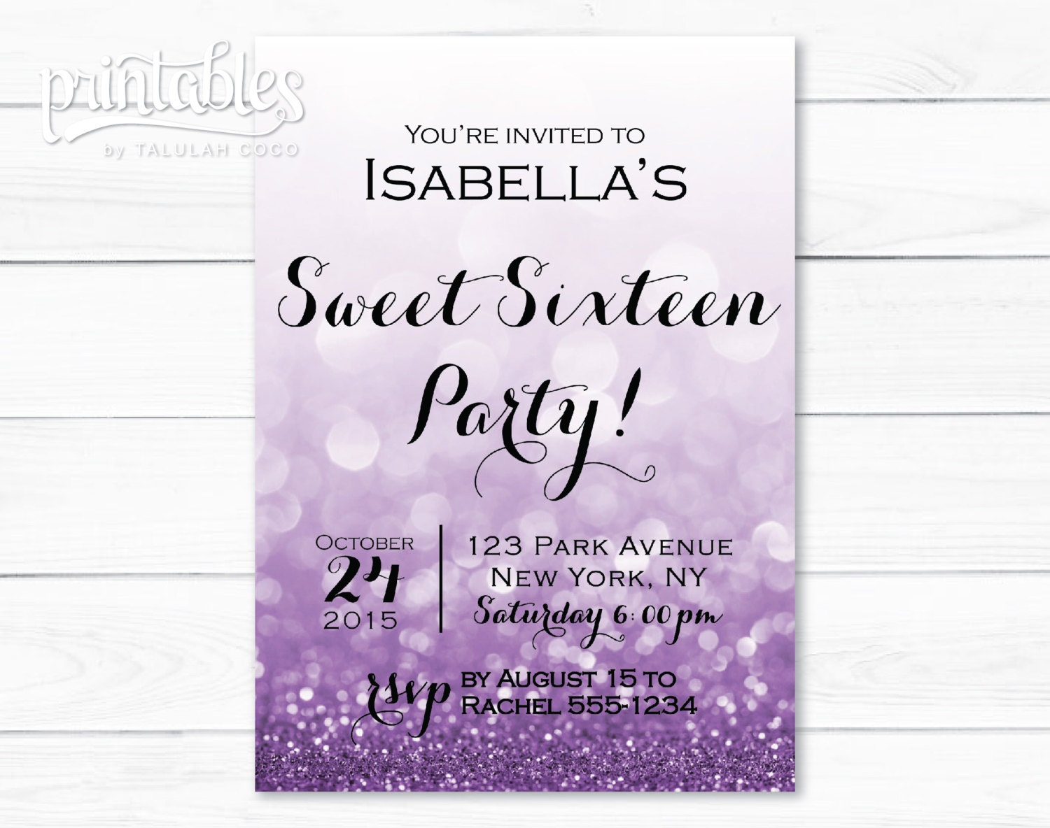 Sweet sixteen invitations templates madohkotupakka sweet sixteen invitations templates filmwisefo