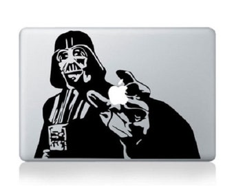 Darth Vader Macbook Etsy - Custom vinyl decals for macbook pro