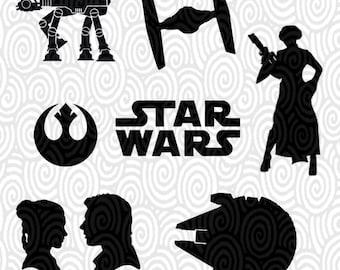 Star Wars Stencil Etsy