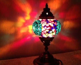 Hand crafted Mosaic Table Lamp