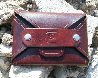 Coin and card holder/wallet