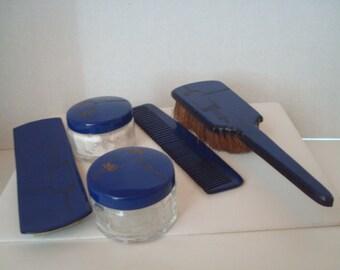 Vintage 4 piece vanity set