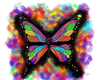 Multi-Color Butterfly