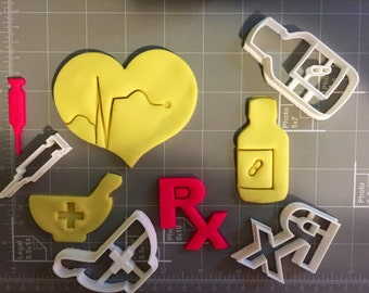 Medical Supplies (First Aid) Cookie Cutters