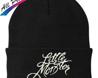 Lady Gaga Little Monster Beanie Metal Band Music One Size Fits Most