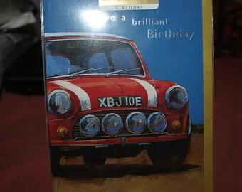 Red Mini Birthday Card
