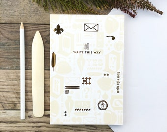 Write This Way Large Notebook