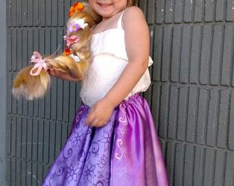 Rapunzel Dress up Skirt - toddler princess dress up fun