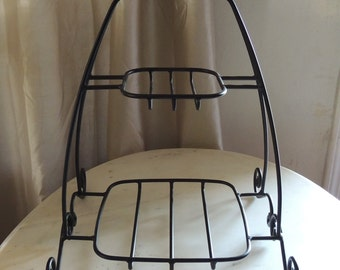 Wrought Iron Longaberger Double Longaberger Basket Holder