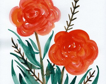 Epiphania, Original Floral Painting