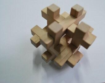 Games for Brain Puzzle  Wooden puzzle Puzzle game Wooden Game Woodworking Puzzle 12 pieces