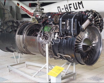 24x36 Poster . Tumansky R-11-F-300 Jet Engine Used In Mig-21 And Yak 28