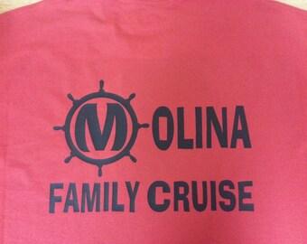 Family Cruise Youth T-shirts customizable