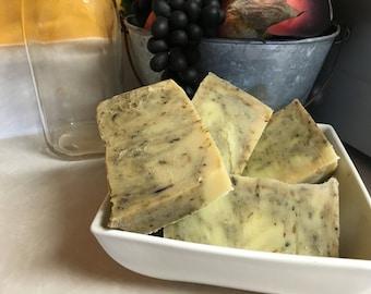 Homemade Goat's Milk Soap - Soothing Lavender - 4 oz.