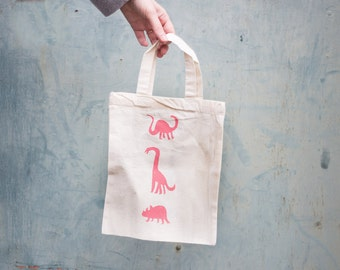 tiny DINOS tote bag
