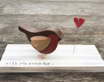 Robin Redbreast With You Every Day Gift