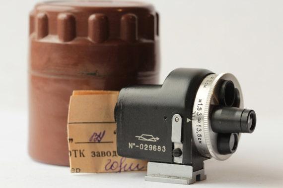 Russian Universal Turret Viewfinder for FED, Zorki, Leica rangefinder N029683