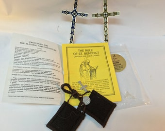 The Brown Scapular Of Our Lady Of Mt. Carmel