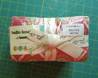 Basic Grey Hello Luscious 40 Fat Eighth Bundle for Moda, OOP and VHTF