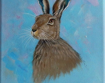 Study of a Brown Hare