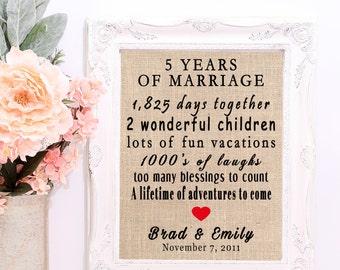 5 year wedding anniversary 5 year anniversary gift 5th anniversary gift 5th anniversary