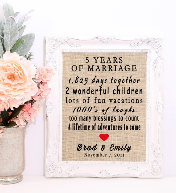 5th Year Wedding Anniversary Gift For Her : Year Anniversary Gift, 5th Anniversary Gift, 5th Anniversary For Her ...