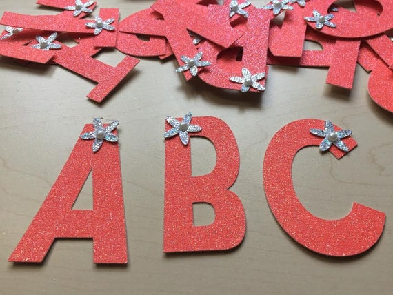 cut die cardstock letters 375 large gold glitter chipboard alphabet letters 375 inch letters banner size full color selection