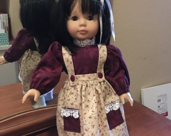 18'' Doll Jumper and blouse