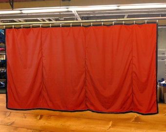 Special Color Stage Curtain/Backdrop/Partition, 10'H x 15'W, Non-FR, Free Shipping, Custom Sizes Available!
