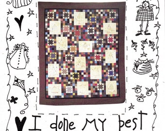 A Year Of Angels Quilt Pattern Country Style Months of the Year Unique Creation Unused Pattern Craft Show