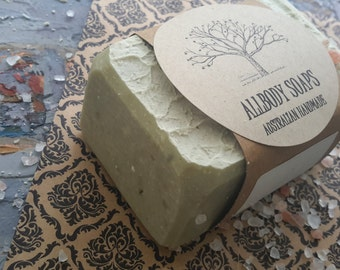 SEAWEED & SEA SALT Soap Bar - Ocean in a Bar