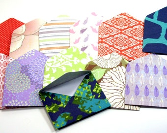 Small Envelopes, Assorted colours. Scrapbook Paper Envelopes. Journal Envelopes, Keepsake Envelope