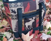 Styling Tote ( Small) ~( By Cindy's Creative Bags VT ) ~Handmade in VT~Zippered Closure~